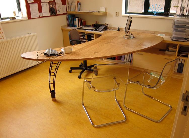 Rob van acker ijzerwerk tafel voor een huisarts - Huisarts kast ...