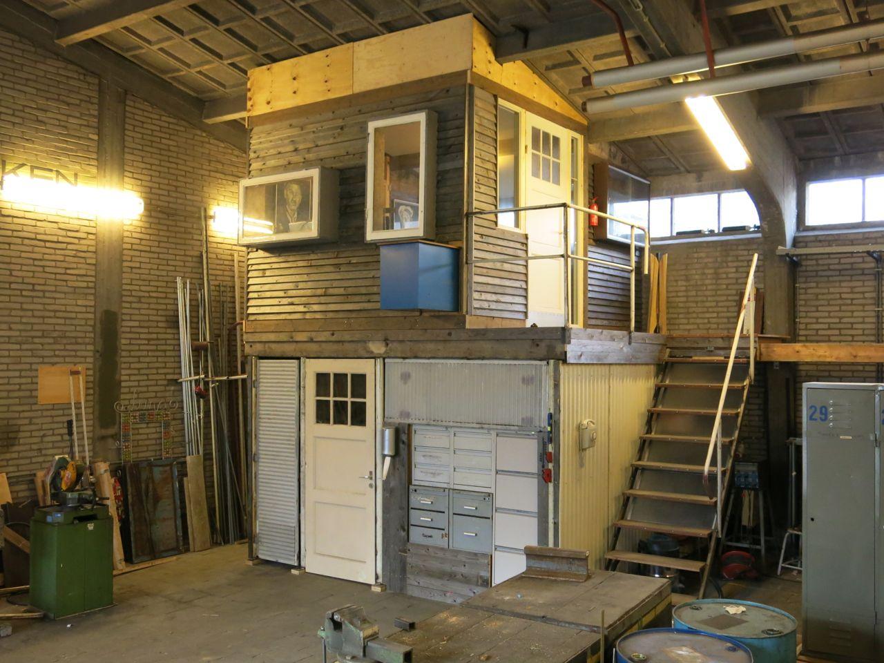 Werkplaats in het Werkgebouw